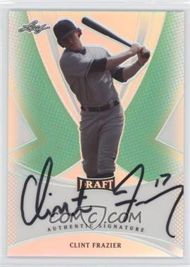 2013 Leaf Metal Draft - [Base] - Green Prismatic #BA-CF1 - Clint Frazier /10