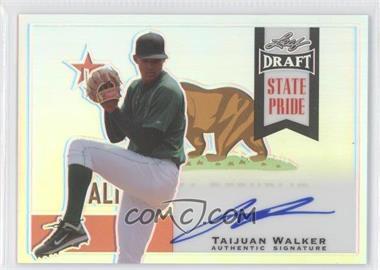 2013 Leaf Metal Draft - State Pride #SP-TW1 - Taijuan Walker