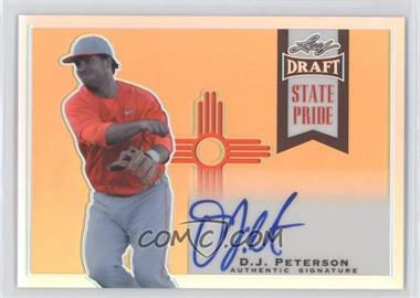 2013 Leaf Metal Draft State Pride #SP-DJP - D.J. Peterson