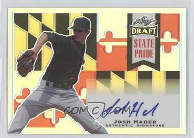 2013 Leaf Metal Draft State Pride #SP-JH2 - Josh Hader