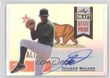2013 Leaf Metal Draft State Pride #SP-TW1 - Taijuan Walker