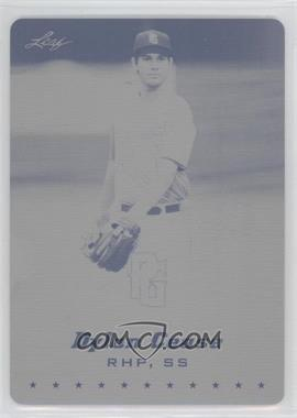 2013 Leaf Perfect Game Showcase - [Base] - Printing Plate Black #DC1 - Dylan Cease /1