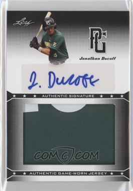 2013 Leaf Perfect Game Showcase - Jersey Autographs #JA-JD1 - Jonathan Ducoff