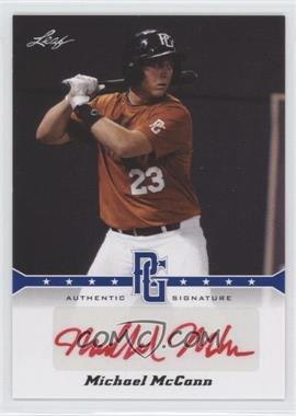 2013 Leaf Perfect Game Showcase Autographs Blue #A-MMC - Michael McKenry /25