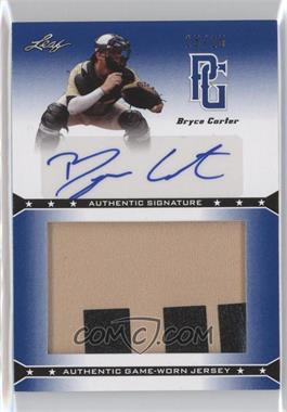 2013 Leaf Perfect Game Showcase Jersey Autographs Blue #JA-BC1 - Bryce Carter /25