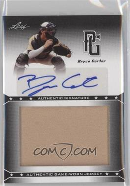 2013 Leaf Perfect Game Showcase Jersey Autographs #JA-BC1 - Bryce Carter