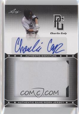 2013 Leaf Perfect Game Showcase Jersey Autographs #JA-CC1 - Charlie Cody