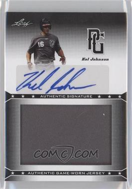 2013 Leaf Perfect Game Showcase Jersey Autographs #JA-KJ1 - Kel Johnson