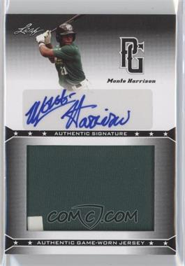 2013 Leaf Perfect Game Showcase Jersey Autographs #JA-MH1 - Monte Harrison