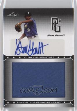 2013 Leaf Perfect Game Showcase Jersey Autographs #JA-SG1 - Stone Garrett