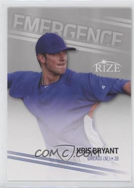 2013 Leaf Rize Emergence #EM-2 - Kris Bryant