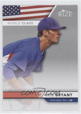 2013 Leaf Rize World Class #WC-2 - Kris Bryant
