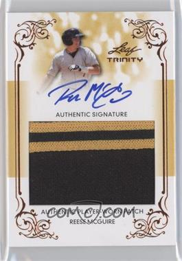 2013 Leaf Trinity Patch Autographs #DTP-RMG - Reese McGuire