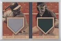Dennis Eckersley, Rickey Henderson /49
