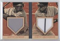 Austin Jackson, Curtis Granderson /99