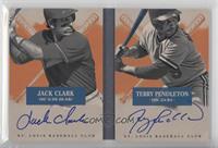 Jack Clark, Terry Pendleton /99