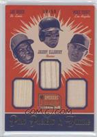 Lou Brock, Jacoby Ellsbury, Mike Trout /50