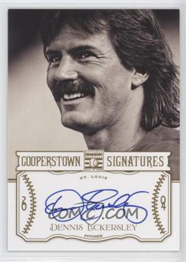 2013 Panini Cooperstown Collection - Cooperstown Signatures #HOF-DEN - Dennis Eckersley /400