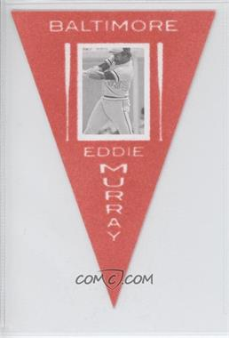 2013 Panini Cooperstown Collection - Pennants - Red #37 - Eddie Murray