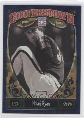 2013 Panini Cooperstown Collection Blue Crystal Shard #100 - Nolan Ryan /499