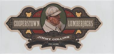 2013 Panini Cooperstown Collection Cooperstown Lumberjacks Die-Cut #14 - Jimmy Collins /175