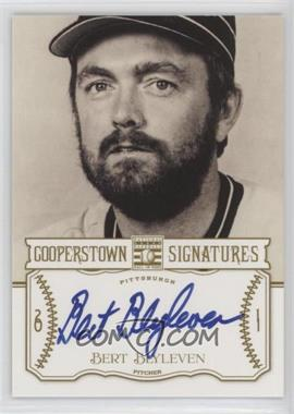 2013 Panini Cooperstown Collection Cooperstown Signatures #HOF-BLY - Bert Blyleven /591