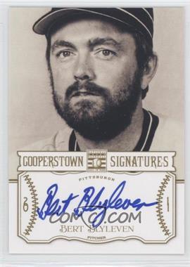 2013 Panini Cooperstown Collection Cooperstown Signatures #HOF-BLY - Bert Blyleven /591
