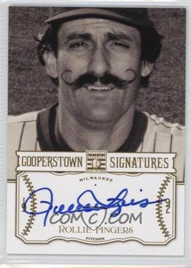 2013 Panini Cooperstown Collection Cooperstown Signatures #HOF-ROL - Rollie Fingers /700