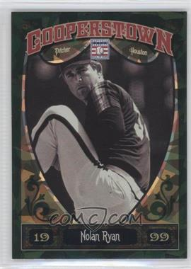 2013 Panini Cooperstown Collection Green Crystal Shard #100 - Nolan Ryan