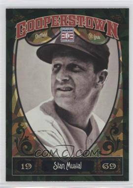 2013 Panini Cooperstown Collection Green Crystal Shard #56 - Stan Musial