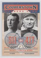 Cy Young, Walter Johnson