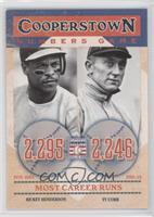 Rickey Henderson, Ty Cobb