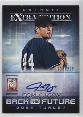 2013 Panini Elite Extra Edition - Back to the Future Signatures #4 - Josh Turley /299