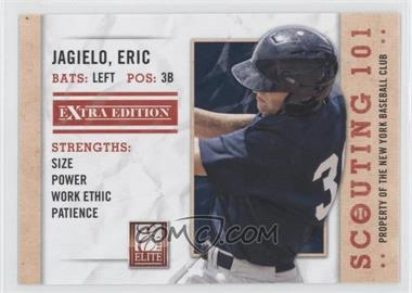 2013 Panini Elite Extra Edition - Scouting 101 #4 - Eric Jagielo