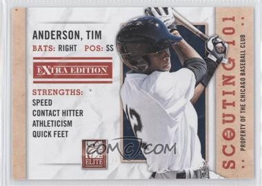 2013 Panini Elite Extra Edition - Scouting 101 #6 - Tim Anderson