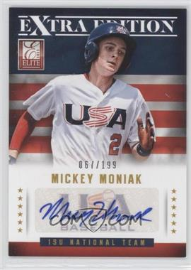 2013 Panini Elite Extra Edition 15U National Team Signatures #7 - Mickey Moniak /199