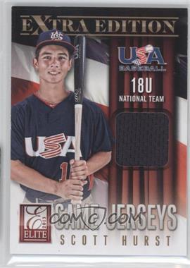2013 Panini Elite Extra Edition 18U National Team Game Jerseys [Memorabilia] #8 - Scott Hurst