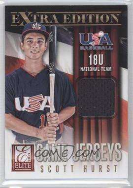 2013 Panini Elite Extra Edition 18U National Team Game Jerseys #8 - Scott Hurst