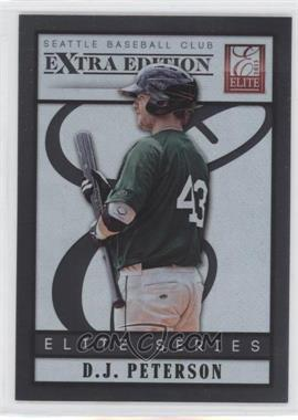 2013 Panini Elite Extra Edition Elite Series #10 - D.J. Peterson