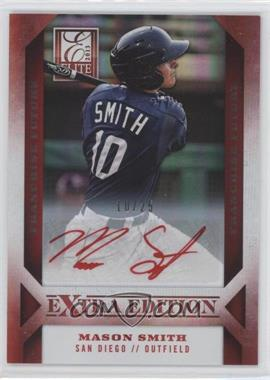 2013 Panini Elite Extra Edition Franchise Future Red Ink [Autographed] #33 - Mason Smith /25
