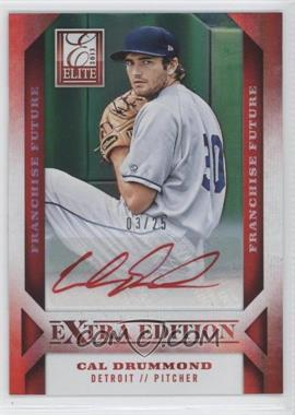 2013 Panini Elite Extra Edition Franchise Future Red Ink [Autographed] #43 - Cal Drummond /25