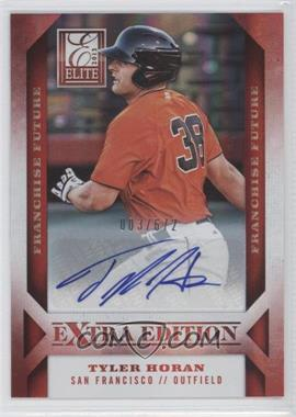 2013 Panini Elite Extra Edition Franchise Future Signatures #47 - Tyler Horan /672
