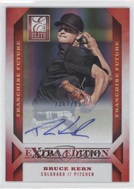 2013 Panini Elite Extra Edition Franchise Future Signatures #57 - Bruce Kern /799