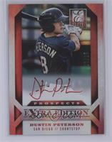 Dustin Peterson /25 [Mint]