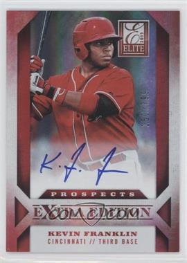 2013 Panini Elite Extra Edition Prospect Autographs #144 - Kevin Franklin /799