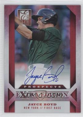 2013 Panini Elite Extra Edition Prospect Autographs #188 - Jayce Boyd /299