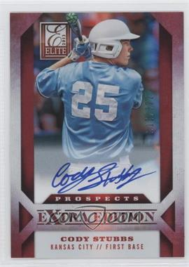 2013 Panini Elite Extra Edition Prospect Autographs #196 - Cody Stubbs /322