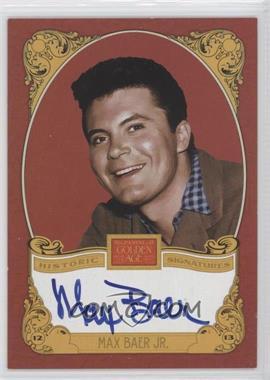 2013 Panini Golden Age Historic Signatures #MBJ - Max Baer Jr.