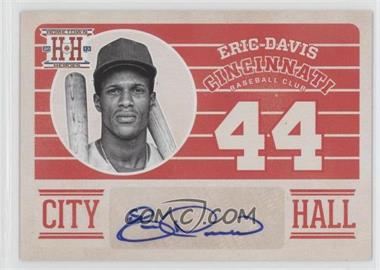 2013 Panini Hometown Heroes City Hall Signatures #CHED - Eric Davis