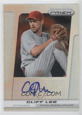 2013 Panini Prizm Autographs Prizms #CL - Cliff Lee /25